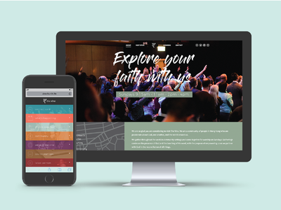 The Vine Website Redesign