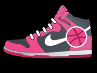 Dribbble shoes