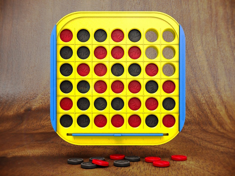 Connect 4 Icon connect 4 app icon app icon ios apple 3d cinema 4d
