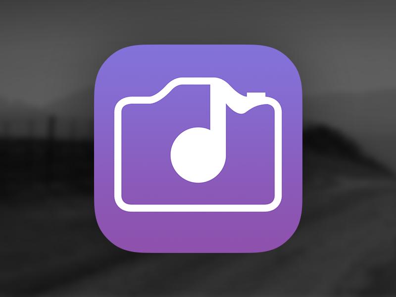 JamCam Splashpage and Icon jamcam ios app new music camera video ios 7 matt loszak