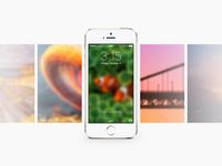 [Freebie] iOS7 Gentle Blur Wallpapers