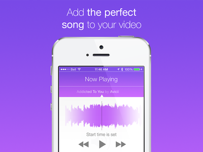 JamCam 3.0 is Out! jamcam ios apps music video app music waveform music controls purple