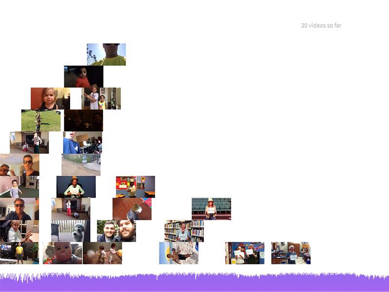 Crowdsourced Music Videos crowdsourced music videos jamcam ios css3 html5 musictech