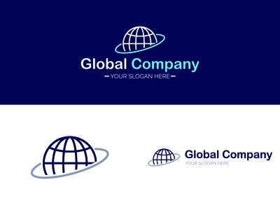 Global Company Logo Design l Logo Design l Sabbir Hossain