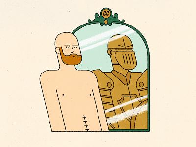 INFUSION scar battle cancer denver design illustration