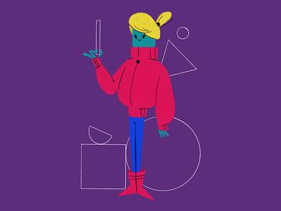 The Perfect Shape graphic design illustration artist illustration art