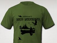 Clipart Cabin T-Shirt