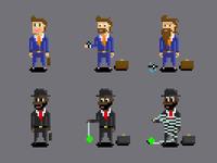 Train Jam Characters