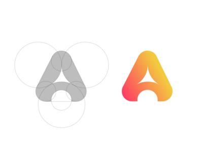 Personal / monogram / A / logo design