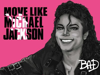 Michael Jackson bad mj micahmicahdesign michael jackson