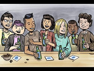 Beer Advocate - Samey Samey hangingout bottles friends bar beeradvocate beer