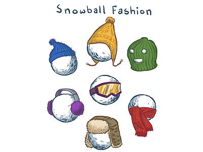 Snowball Fashion earflaps goggles earmuffs balaclava scarf wool snow winter fashion snowballs hats