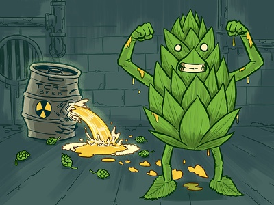 Beer Mutants sewer keg radioactive mutant beeradvocate beer
