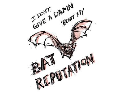 Bat Reputation damn bad reputation joanjett rock bat