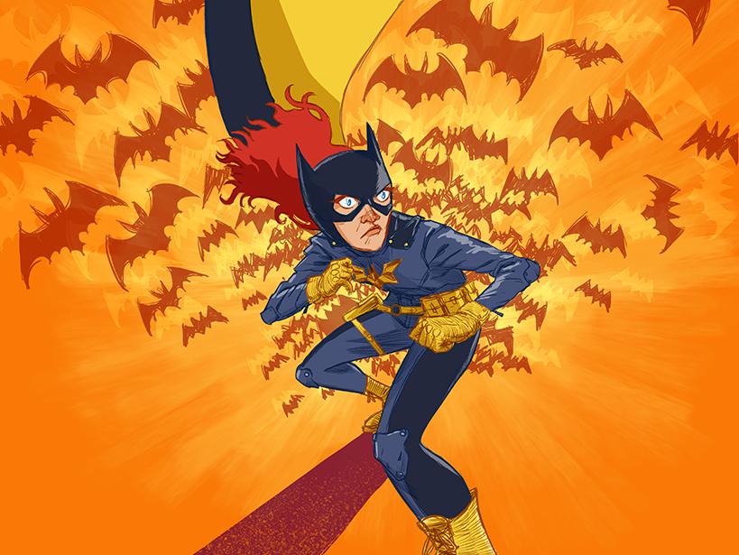 Batgirl ba redhead bats comics batgirl