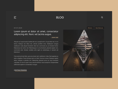 Blog Post  #035 website design architecture blog post blog design blog webdesign web ui design daily 100 challenge dailyuichallenge dailyui