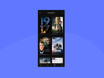 Favourites  #044 favorites movies favourite favorite movie app movie mobile app design app design app ui design daily 100 challenge dailyuichallenge dailyui