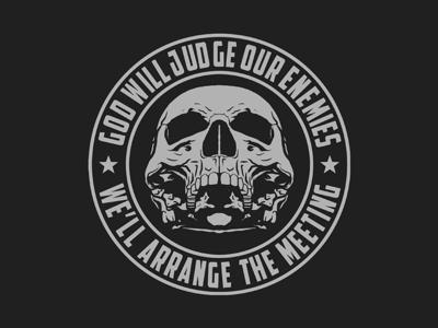 Badge Skull Design