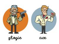 Bootleg A-Team (Stogie and Ace)