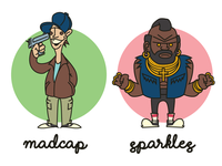 Bootleg A-Team (Madcap and Sparkles)