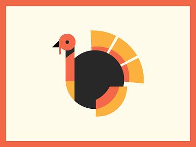 turkey illustration vector illustration flat design charlotte