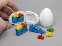 3D Printable Surprise Egg - #7 Car Carrier