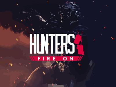 Logo design, cover art for tactical FPS game