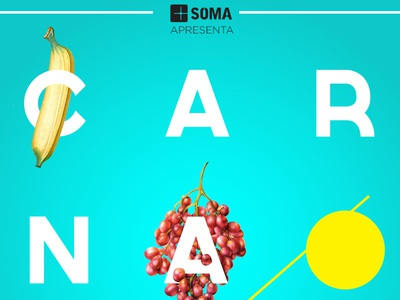 Fruit Letters | Carnaval soma colors type lettering botanical natural clean types letters carnaval