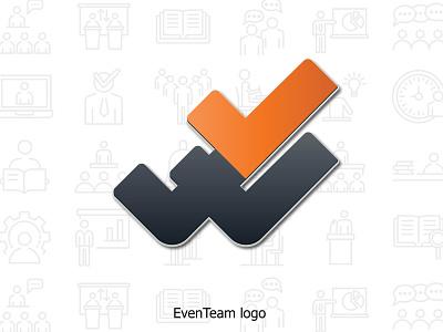 EvenTeam logo illustrator branding vector design illustration logo design logodesign logotype logo