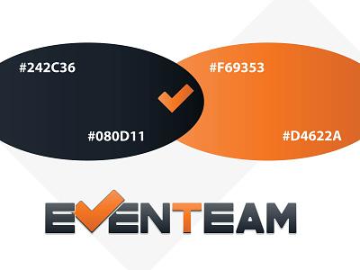 EvenTeam logo colors logodesign logo design logo illustrator branding vector illustration design