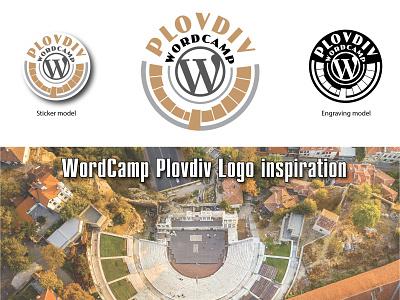 WordCamp Plovdiv logo logodesign branding wordpress wordcamp logo design logo illustration illustrator vector design