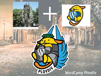 Wapuu Wordcamp Plovdiv design illustration wordcamp wordpress maskot