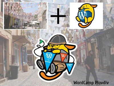 Wordcamp Plovdiv Hipster Wapuu vector design illustration illustrator maskot hipster wordpress wcplv wordcamp wapuu