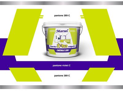 Bucket Marsel Extra White vector flexoprint bucket design bucket illustration illustrator branding design