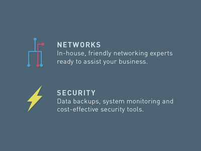 Descriptions it infrastructure networks security flash lightning