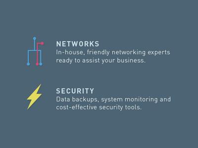 Descriptions it infrastructure networks security flash lightning
