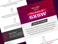 Pulsr - Pulse of SXSW Daily e-mail