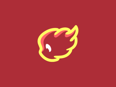 Fire Elemental minimalist brand identity illustrations mascot logo flame cute art cute fire ux ui photoshop branding illustrator vector graphic design logo art illustration creative design