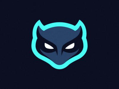 Skull Illustration blue profile mascot logo logos logodesign icon branding cute head skull ui ux photoshop vector graphic design logo art illustration creative design