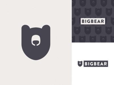 BigBear Branding exploration creative design logodesign logos bears bear branding design brand identity brand photoshop illustrator branding cute vector graphic design logo art illustration creative design