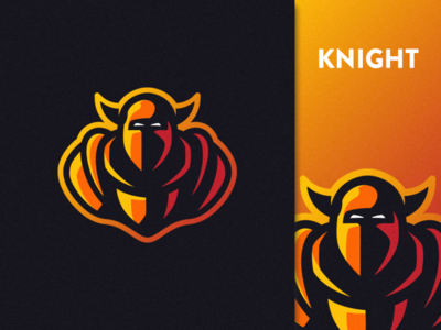 Knight Mascot ui logo design illustration art graphicdesign esports designer design art artwork brand identity branding vector mascot logo illustrator photoshop graphic design logo art illustration creative design