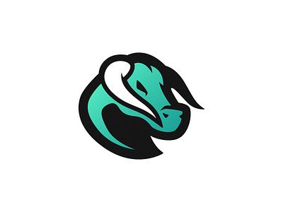 Teal Bull Logo designer icon brand design esports logo logodesign esports horn bull teal photoshop branding mascot logo illustrator vector graphic design logo art illustration creative design