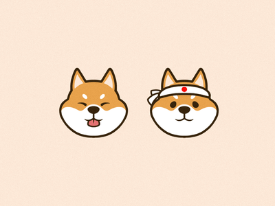Corgis 2 shiba japanese artwork artist illustration art illustrations dog illustration dogs corgis corgi vector icon cute photoshop logo graphic design art illustration creative design