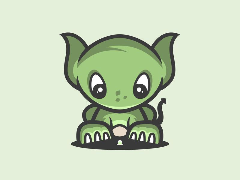 Cute Dragon ux icon ui cute animal flat minimal clean simple web app adobe illustrator art graphic design vector logo illustration design creative branding