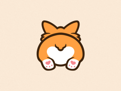 Corgi Emote Illustration