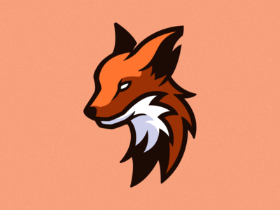 Fox Mascot Illustration