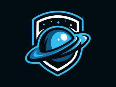 Saturn Mascot Logo