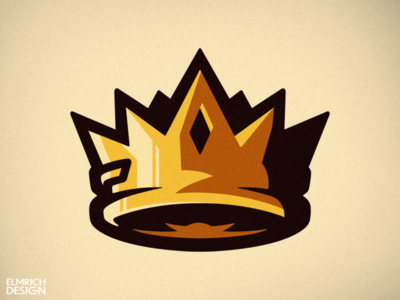 Crown Mascot Logo