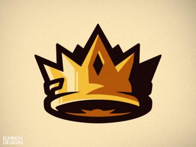 Crown Mascot Logo