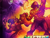 Officially Licensed Masters of the Universe Poster